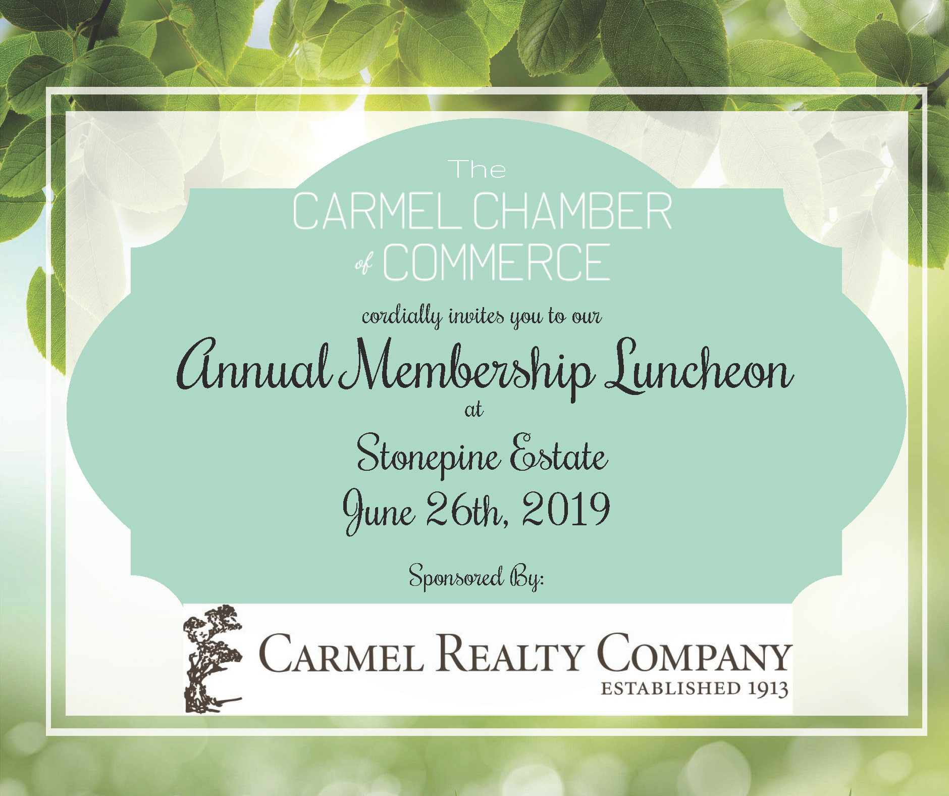Annual Membership Luncheon